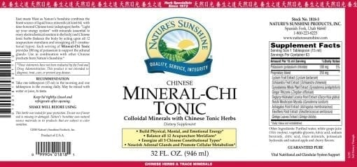 Mineral Chi Tonic