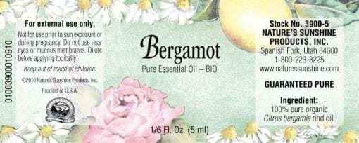 Bergamot BIO - 100% Pure Essential Oil
