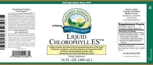 Chlorophyll, Liquid ES (16 fl. oz.)