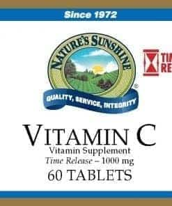 Vitamin C Time Released - 1000 mg. (60 tablets)