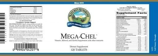 Mega - Chel (120 tablets)