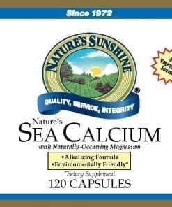 Nature's Sea Calcium (120 Capsules)
