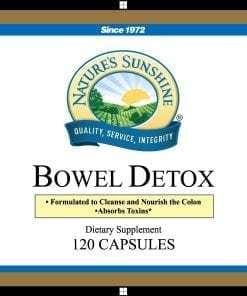 Bowel Detox (Formerly Called Bowel Build)