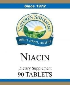 Niacin - 250 mg.