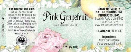Grapefruit, Pink BIO - 100% Pure Essential Oil