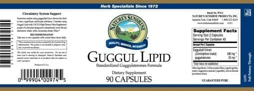 Guggul Lipid (Concentrate)