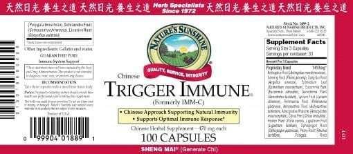 Trigger Immune, Chinese
