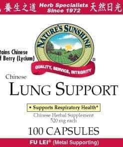 Lung Support, Chinese