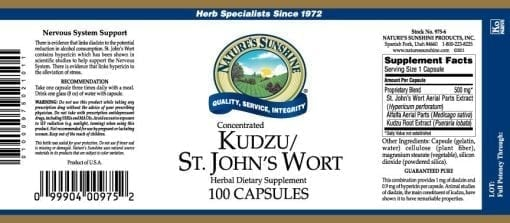 Kudzu / St. John's Wort (Concentrated)