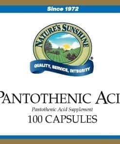 Pantothenic Acid - 250 mg.