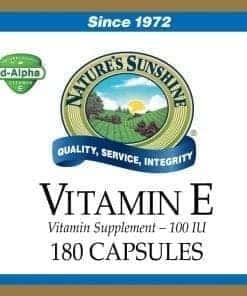 Vitamin E - 100 IU