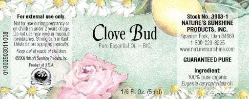 Clove Bud BIO - 100% Pure Essential Oil