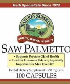 Saw Palmetto (100 capsules)