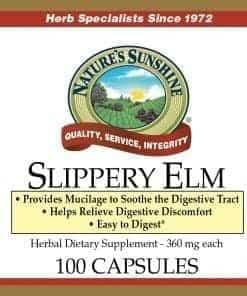 Slippery Elm (100 capsules)