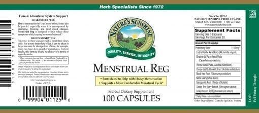 Menstrual Reg