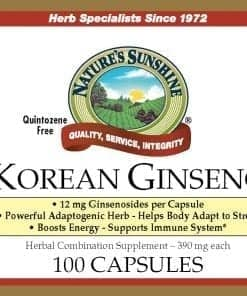 Ginseng, Korean