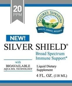 Silver Shield Aqua Sol Technology (Colloidal Silver) - 20 ppm