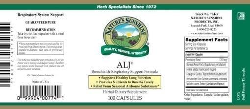 ALJ (100 capsules)