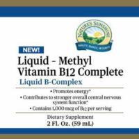 B12, Methyl Complete Liquid Vitamin