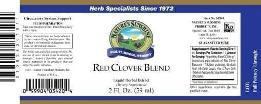 Red Clover Blend (2 fl. oz.)