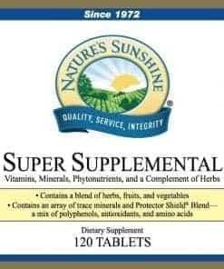 Super Supplemental Vitamins & Minerals