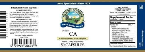 CA, ATC Concentrated (50 capsules)