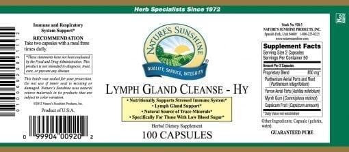 Lymph Gland Cleanse-HY