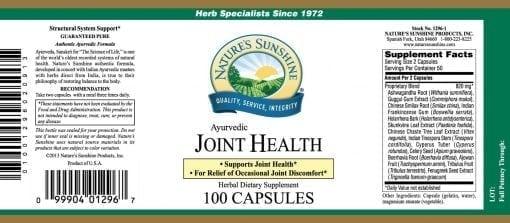 Joint Health, Ayurvedic