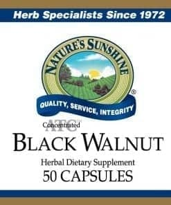 Black Walnut ATC Concentrated (50 capsules)