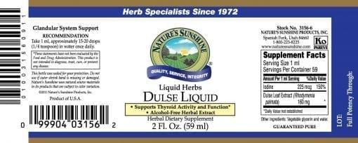 Dulse Liquid