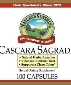 Cascara Sagrada (100 capsules)