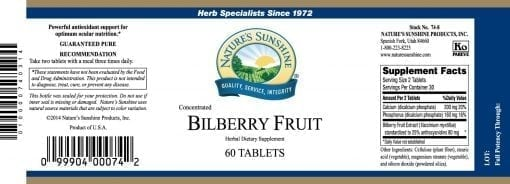 Bilberry Fruit Concentrate