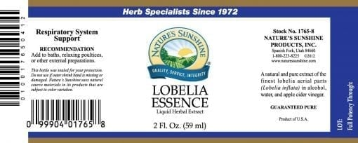 Lobelia Essence (2 fl. oz.)