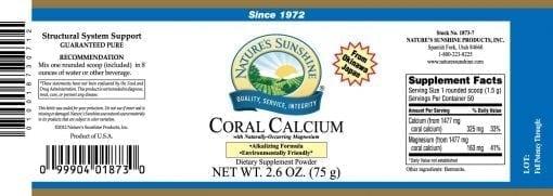 Coral Calcium (75 grams)