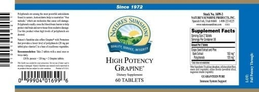 Grapine, High Potency
