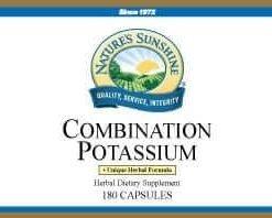 Potassium, Combination (180 capsules)