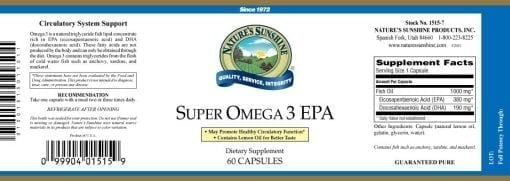 Super Omega 3 EPA