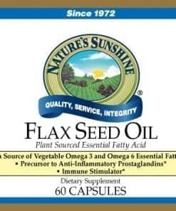 Flax Seed Oil (60 gel caps)