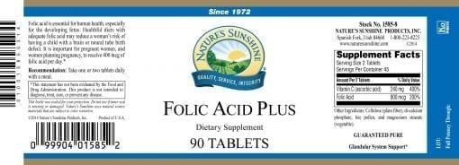 Folic Acid Plus