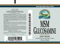 MSM/Glucosamine Cream