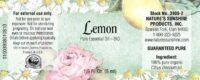 Lemon - 100% Pure Essential Oil BIO