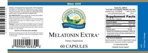 Melatonin Extra - 3mg.