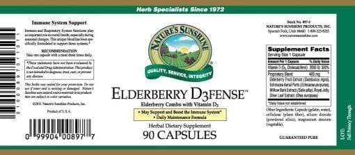 Elderberry D3fense