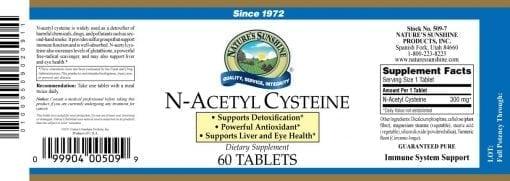 N-Acetyl Cysteine - 300mg.