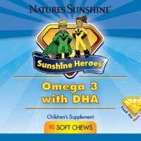 Sunshine Heroes Omega 3 With DHA