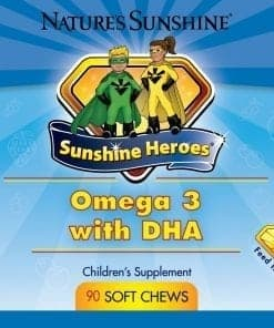 Sunshine Heroes Omega 3 With DHA