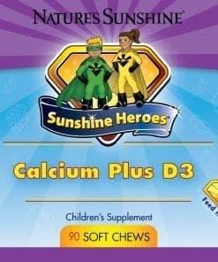 Sunshine Heroes Calcium Plus D3