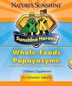 Sunshine Heroes Whole Foods-Papayazyme