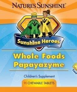 Sunshine Heroes Whole Foods-Papayazyme