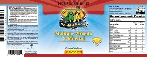 Sunshine Heroes Multiple Vitamin and Mineral